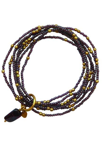 A Beautiful Story|Nirmala Garnet Armband