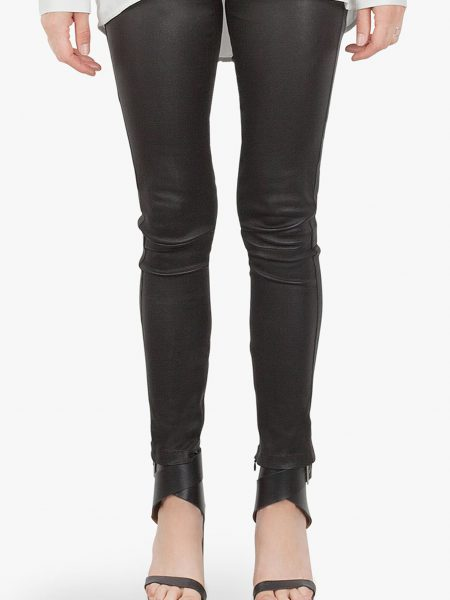 IGNORE|VEGAN LEATHER PANT