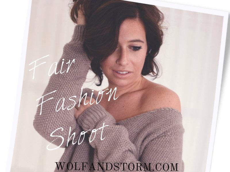 Fair Fashion Shoot