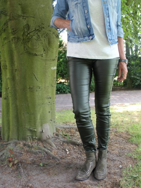 IGNORE | VEGAN PANTS ARMY GREEN