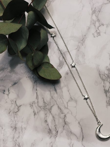 A Beautiful Story | Twinkle Silver Necklace