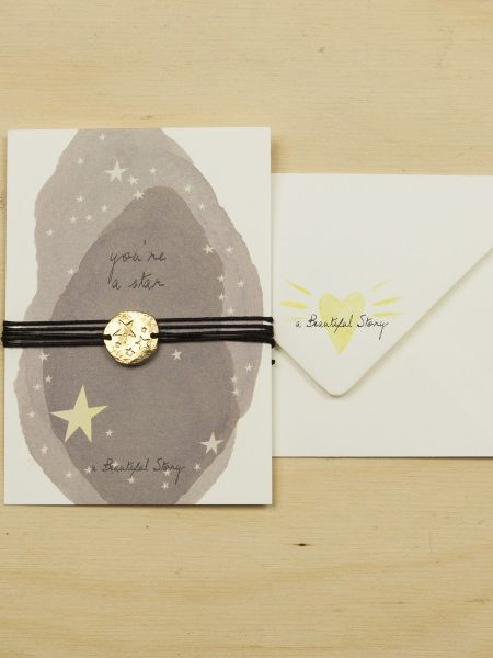 A Beautiful Story | Jewelry Postcard Stars