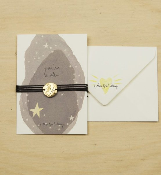 A Beautiful Story | Jewelry Postcard Stars from Wolf and Storm