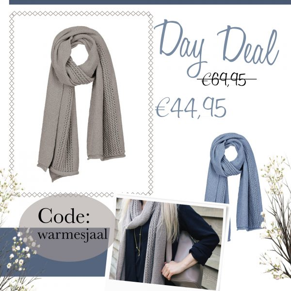 day deal sjaal