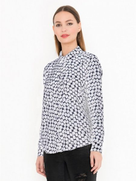 Miss Green | Blouse Tencel Dots