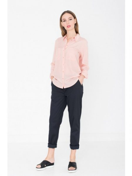Miss Green | Blouse Tencel Roze
