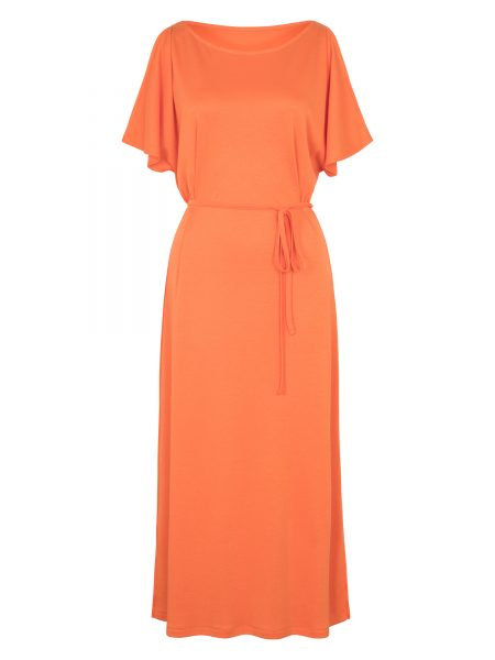 People Tree | Victoria Dress Dusty Orange