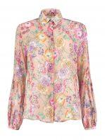 Golddust roze blouse