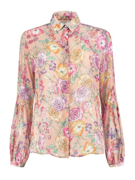 Golddust roze blouse