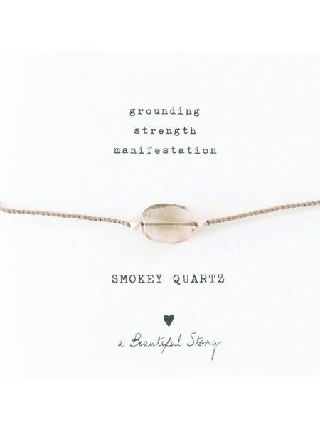A Beautiful Story | Gemstone Card Smokequarts