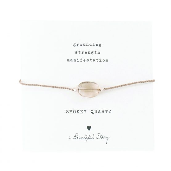 A Beautiful Story | Gemstone Smokey Quartz