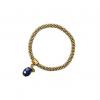 A Beautiful Story | Jacky Gold Lapis Lazuli Bracelet