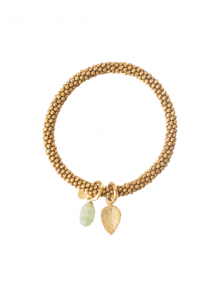 A Beautiful Story | Jacky Aventurine Leaf Gold