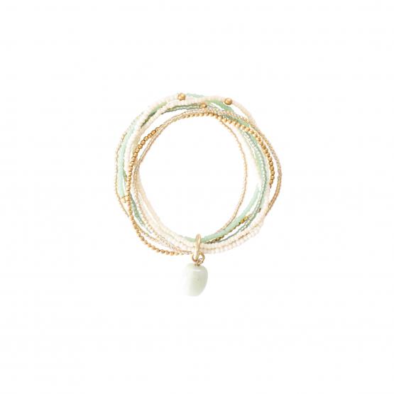 A Beautiful Story | Nirmala Aventurijn Gold Bracelet