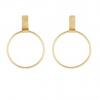 People Tree | Rectangle and Hoop Earrings