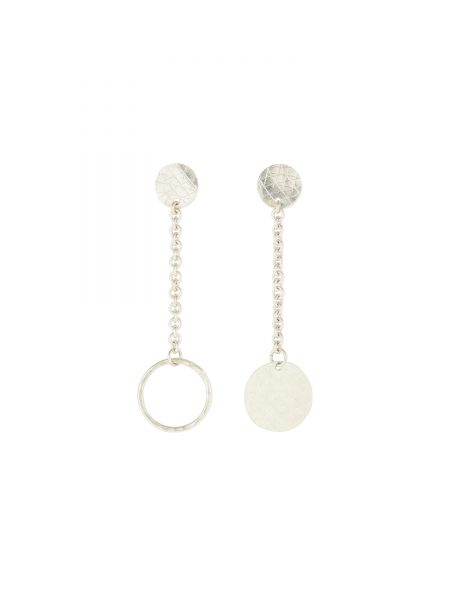 People Tree | Chain Drop Earrings in Silver