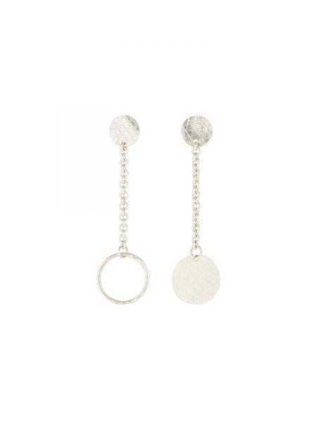 People Tree | Chain Drop Earrings in Silver