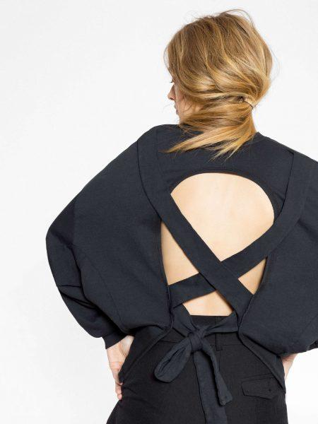 Friday's Project | Crossed Back Sweatshirt 4