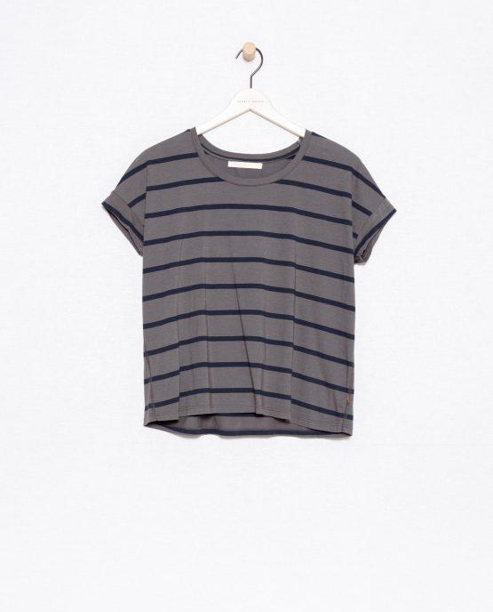 Friday's Project   Grijs Shirt Biokatoen
