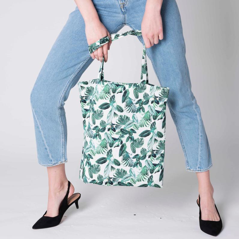 Tote Bag Jungle Print