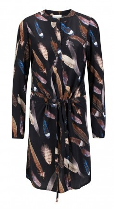 Alchemist | Feather Print Dress