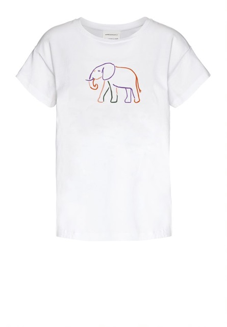 Armedangels Nelaa Elephant White
