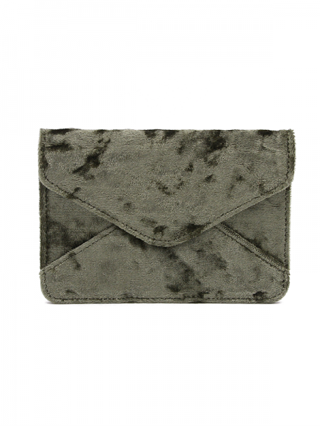 Denise Roobol | Mini Wallet Army Velvet