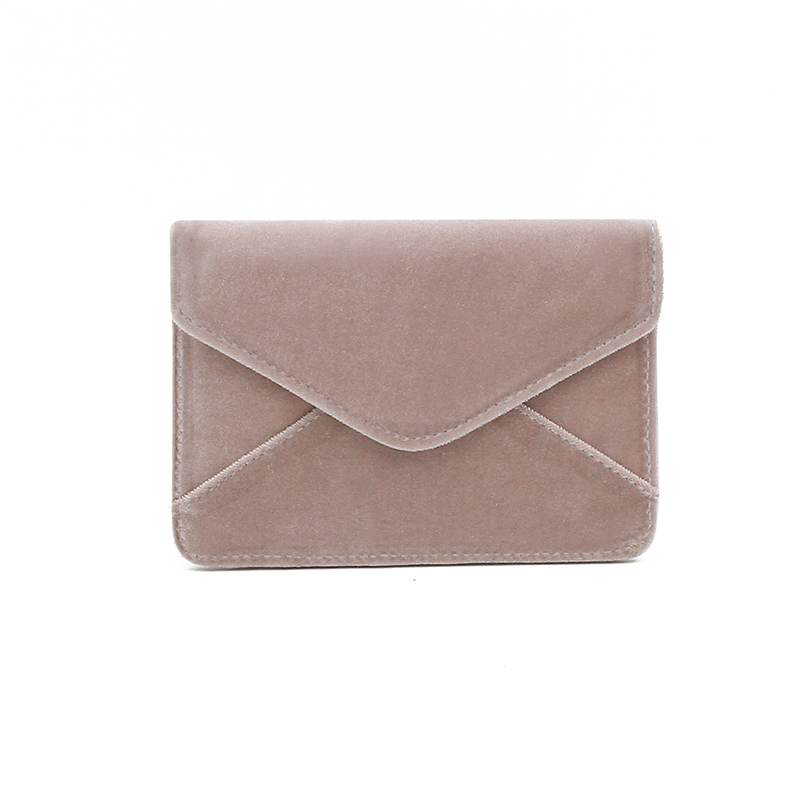 Mini Wallet Nude Velvet