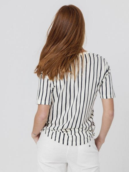 Thinking Mu | Vertical Lines Tee