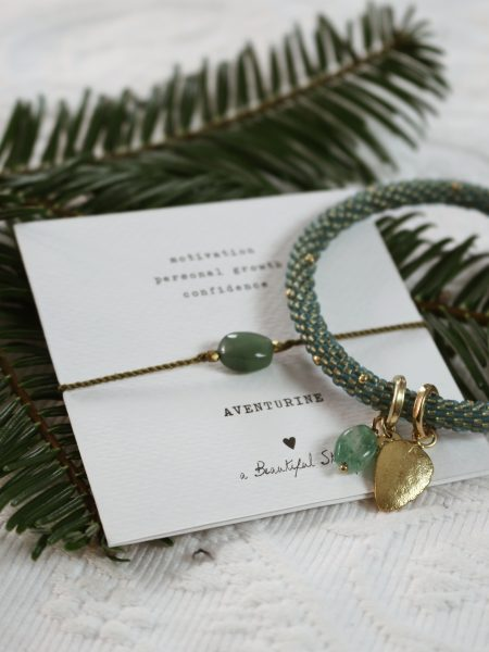 A Beautiful Story | Sieradenset Multi Color Aventurine