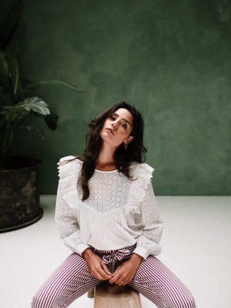 J-LAB3L | Blouse Shanti Offwhite