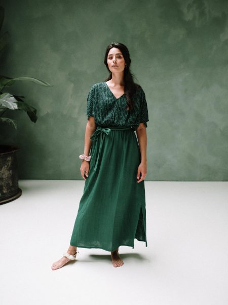 J-LAB3L | Maxi Dress Amali Green