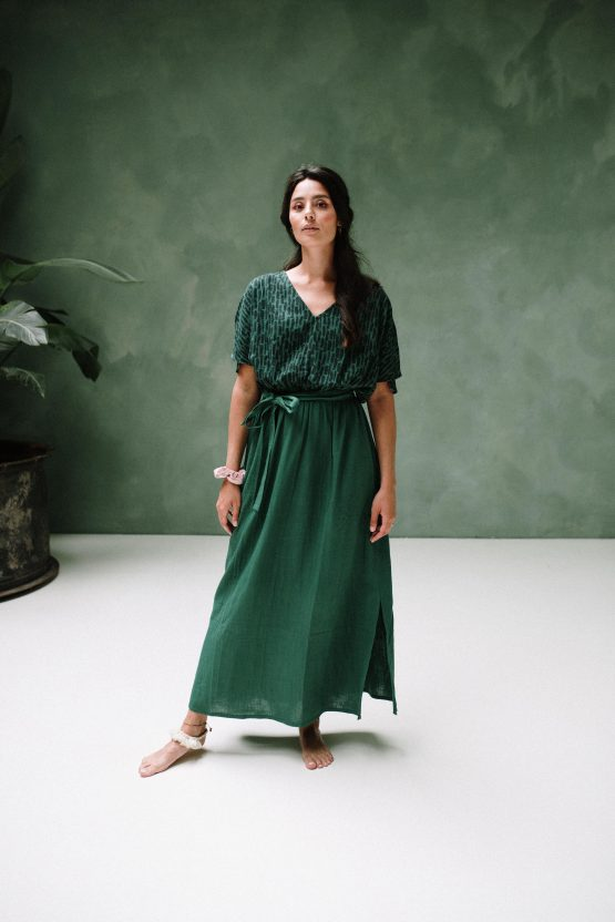 J-LAB3L | Maxi Dress | Amali Green