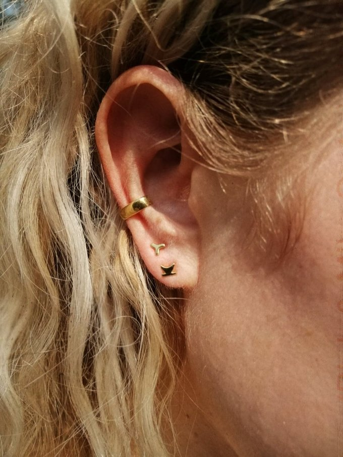 TAJ | Ear Cuff Gumption Gold