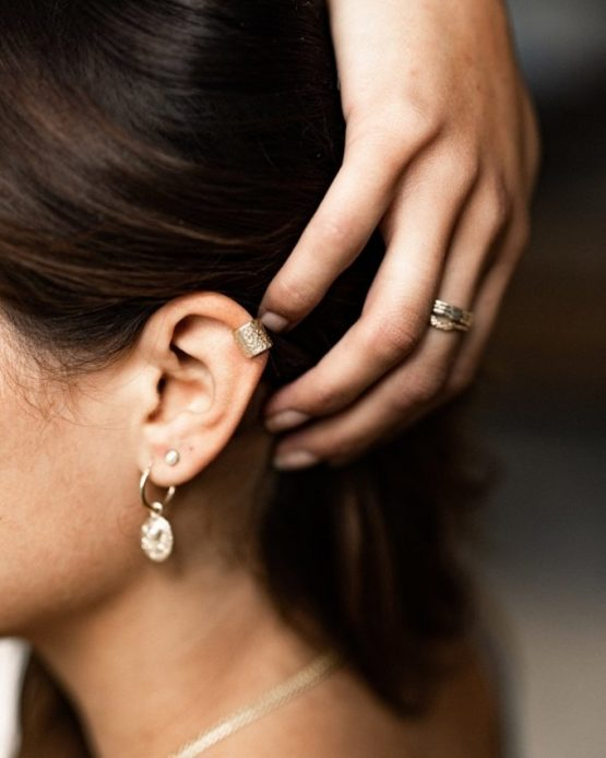 TAJ | Ear Cuff Kaipo Gold
