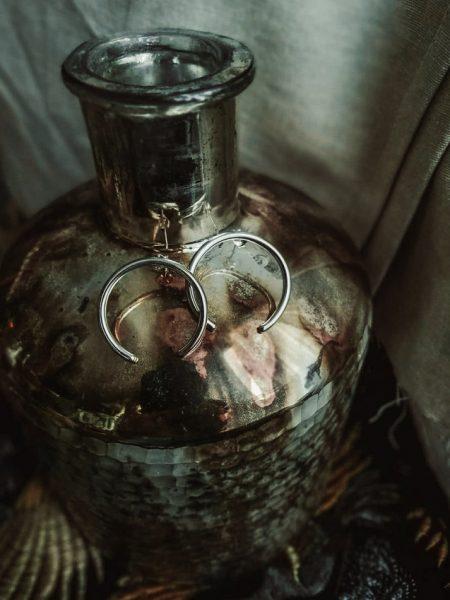 TAJ | Set Earrings Ajla Silver