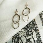 TAJ | Set Earrings Barika Silver