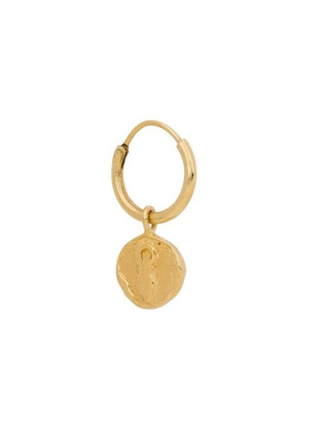 TAJ | Single Earring Gaia Coin Gold