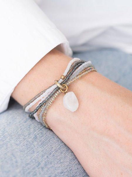 A Beautiful Story | Nirmala Moonstone Gold Bracelet