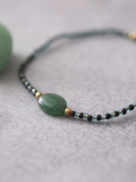 A Beautiful Story | Summer Aventurine Gold Bracelet