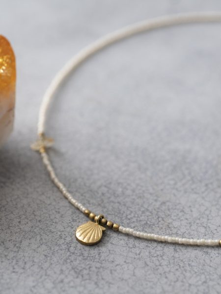 A Beautiful Story | Wildflower Citrine Gold Necklace