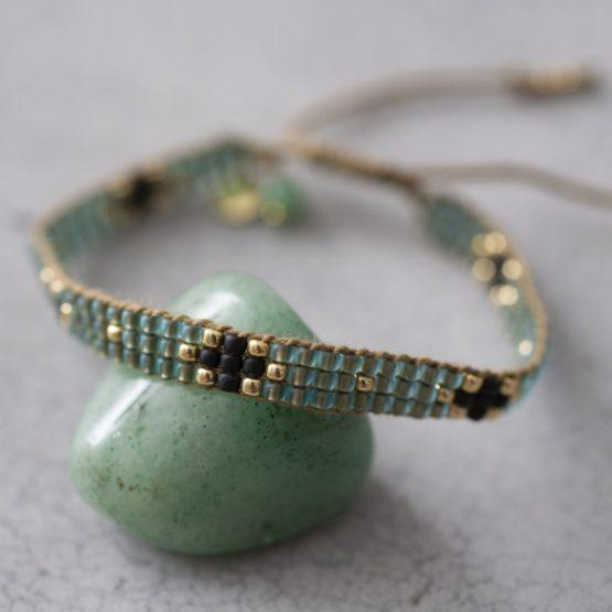 A Beautiful Story | Summerlight Aventurijn Goud Armband