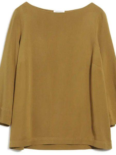 Armedangels | Malalaa Blouse Golden Khaki