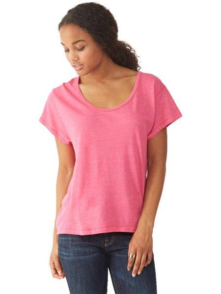 Alternative Apparel   Shirt Eco Roze