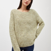 Armedangels | Pippaa Mouline Pistachio Pullover