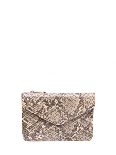 Denise Roobol Mini Wallet Natural Snake