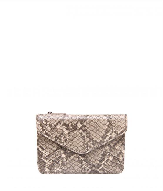 DENISE ROOBAL | Mini Wallet Naturel Snake