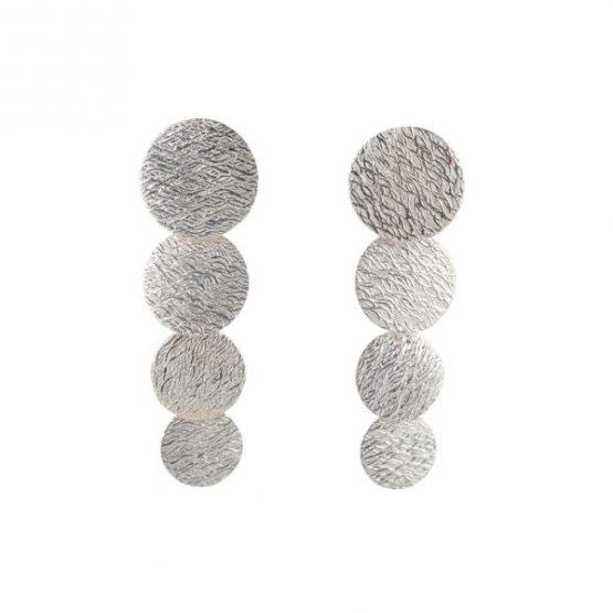 HINTH | Rain Zilveren Oorbellen