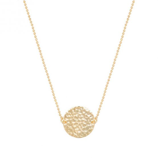 HINTH | Solid Round Gouden Ketting