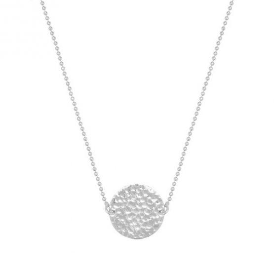 HINTH | Solid Round Zilveren Ketting